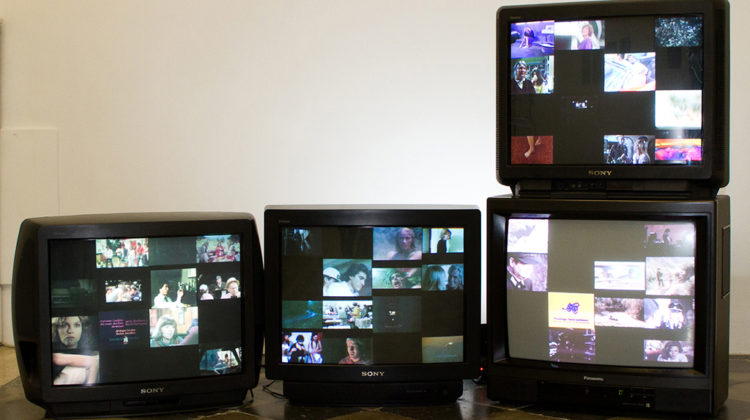 Jamie Shovlin - Hiker meat (Four Screen Version) - 2011 - 4 DVDs, 4 DVD Players, 4 Monitors Duration and dimensions variable