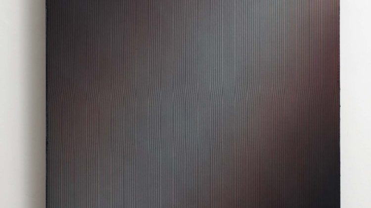 Adrien Couvrat Lyre (LUX) 2014 Acrilico su tela 101 x 130 cm