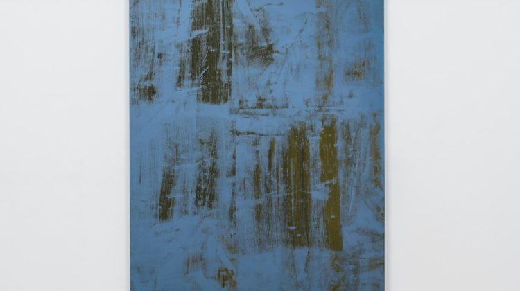 Gérard Traquandi - Untitled - 2014 Olio su tela 146 x 114 cm