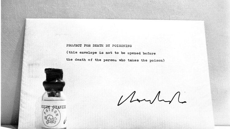 Sergio Lombardo - Progetto di morte per avvelenamento - 1970