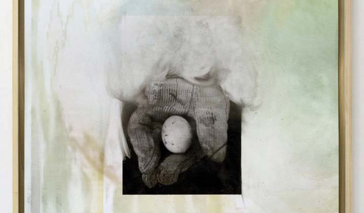 Josh Tonsfeldt -  Untitled - 2014 - pigment ink on reverse of color photo paper, artist's frame  71.1 x 106.7 cm