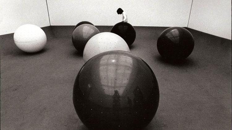 Serio Lombardo - Sfere con sirena - XXXV Biennale Internazionale di Venezia, 1970