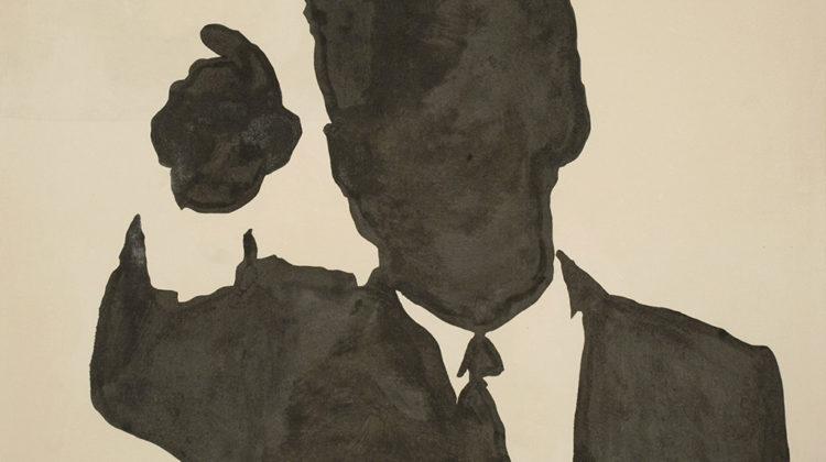 Sergio Lombardo - Kennedy - smalto su tela - 1963 - 180x230cm
