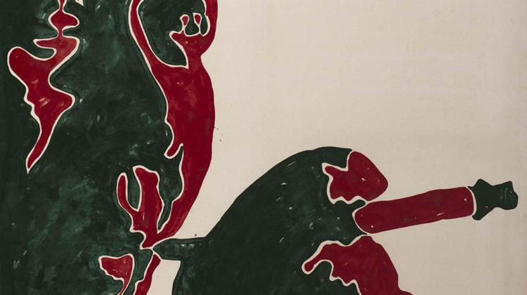 Sergio Lombardo - Mao Tze Tung - smalto su tela - 1964 - 200x200cm