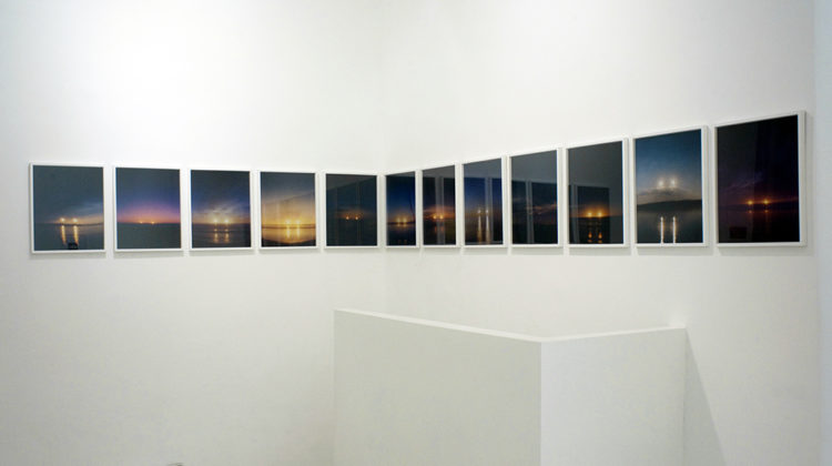 Jason Kalogiros -  Double Sunset -  2007 -  Analog c-print 40,6 x 50,8 cm each Ex 4/5, 5/5 (installation of 12 photographs)
