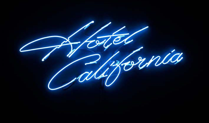 Jamie Shovlin - Untitled (The Last Resort) Ed. of 3 - 2007 - 8 - Neon 100X200 cm