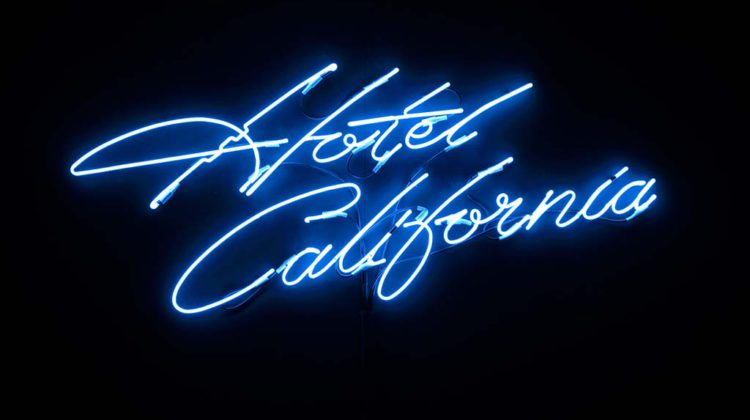 Jamie Shovlin -  Untitled (The Last Resort) -  2007-8 - Neon 100 x 200 cm  Ed. of 3