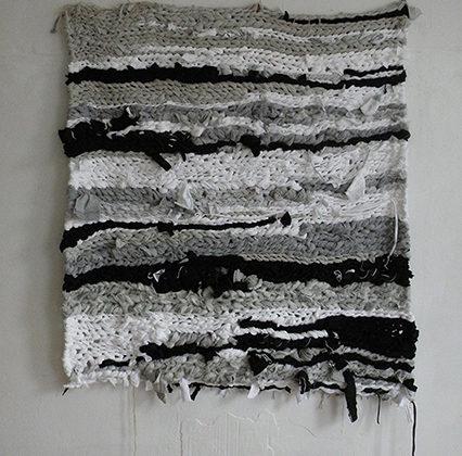 Marysia Gacek - Untitled - 2011 - Men's XXL exercise cloths 127 x 109,2 cm