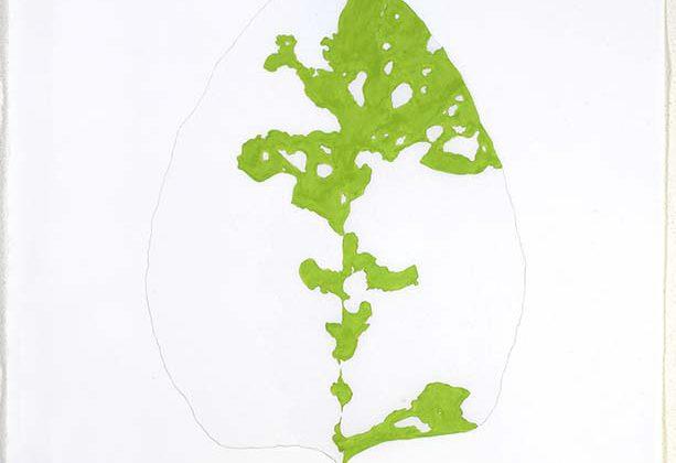 Heidrun Sandbichler - Senza titolo - 2007 - Pittura su telo 240 x 120 cm