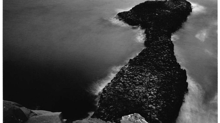 Thomas Joshua Cooper - South - The Mid Atlantic Ocean Cap Manuel, Dakar The Cape Verde Peninsula, Senegal, The South-most point of the Cape Verde Peninsula -  2004 - Gelatin Silver Print Image: 43 x 60 cm