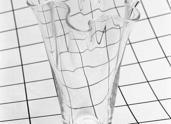 Talia Chetrit - Vase/Grid - 2009 - Silver gelatin print, 35,6 x 27,9 cm, Edition of 4