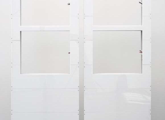 Stian Ådlandsvik -   Laissez-faire #2 -  2010 -  mdf, acrylic glass, wood 200 x 146 x 10 cm