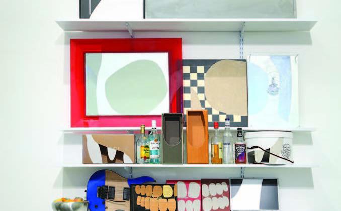 James Hopkins -  Life Style -  2007 -  Mixed media 245 x 180 x 32 cm