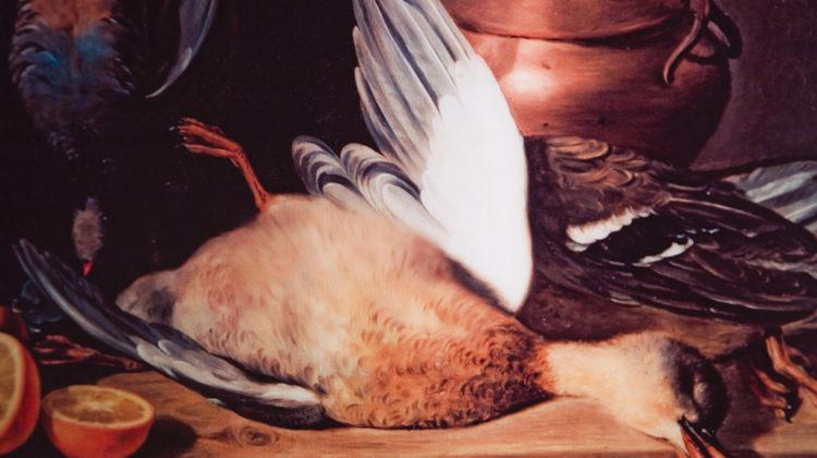 Mat Collishaw - Lame Duck II - 2009 - Lenticular print in wooden frame - 38,5 x 29 cm Ed. of 3 + 2AP