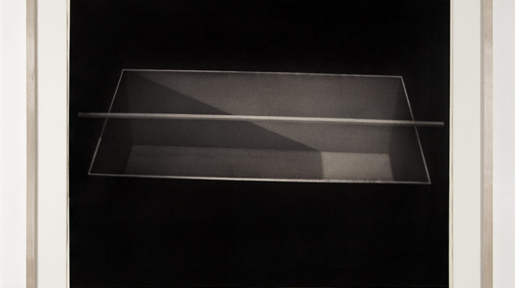 Marco Tirelli, Senza titolo, 2005, Tempera and carbon on paper, 70x100 cm