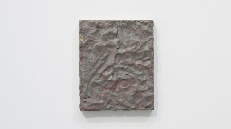 Maria Morganti, Impastamento#1, Plasticine on wooden board, 22x18x2,5 cm Photo credit: Andrea Simi