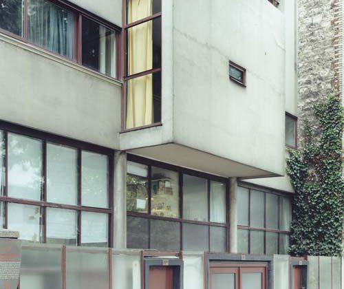 Guido Guidi, Maison Planeix (2003), stampa a contatto, 20 x 25 cm (41,5 x 46,5 cm con cornice), ed. 1/5