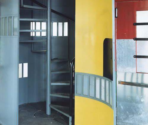Guido Guidi, Usine Duval (2003), stampa a contatto, 20 x 25 cm (41,5 x 46,5 cm con cornice), ed. 1/5