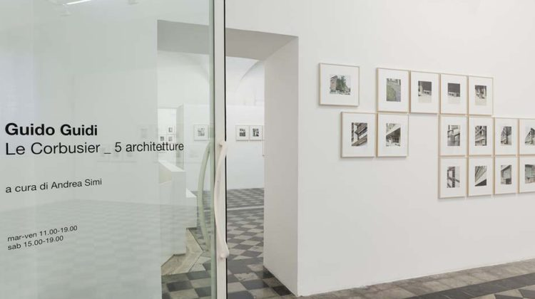 Guido Guidi, Le Corbusier _ 5 architetture, installation view. Photo: Andrea Simi