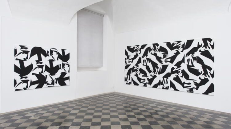 Sergio Lombardo. Quilting, Installatin view, Photo Credit: Giorgio Benni
