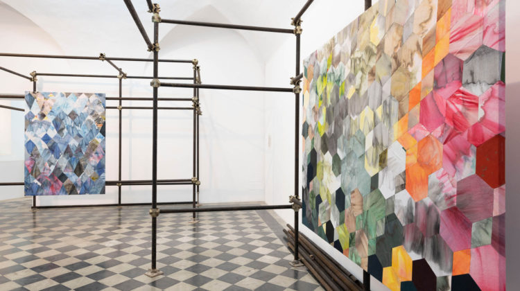 Jonathan VanDyke, How to Operate in a Dark Room, installation view, Photo credit: Giorgio Benni